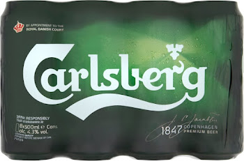 Carlsberg Lager - 8 x 500ml Can