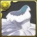 白薔薇のウェディングドレス