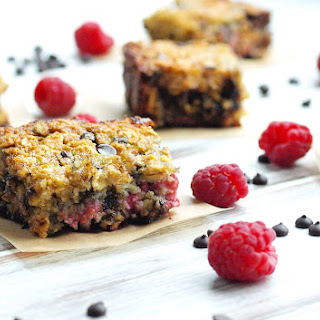 Gluten-free Raspberry Chocolate Chip Bars