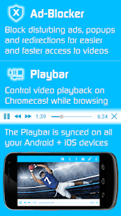 Video & TV Cast | Chromecast Screenshot