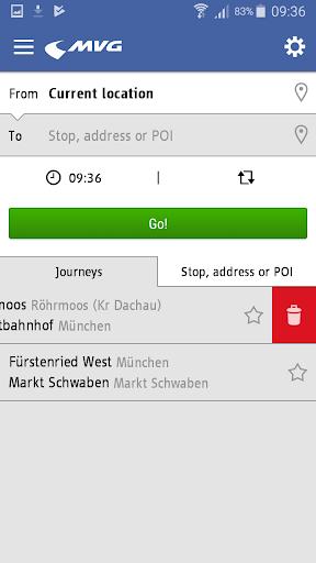MVG Fahrinfo München 6.6.0_247 screenshots 2