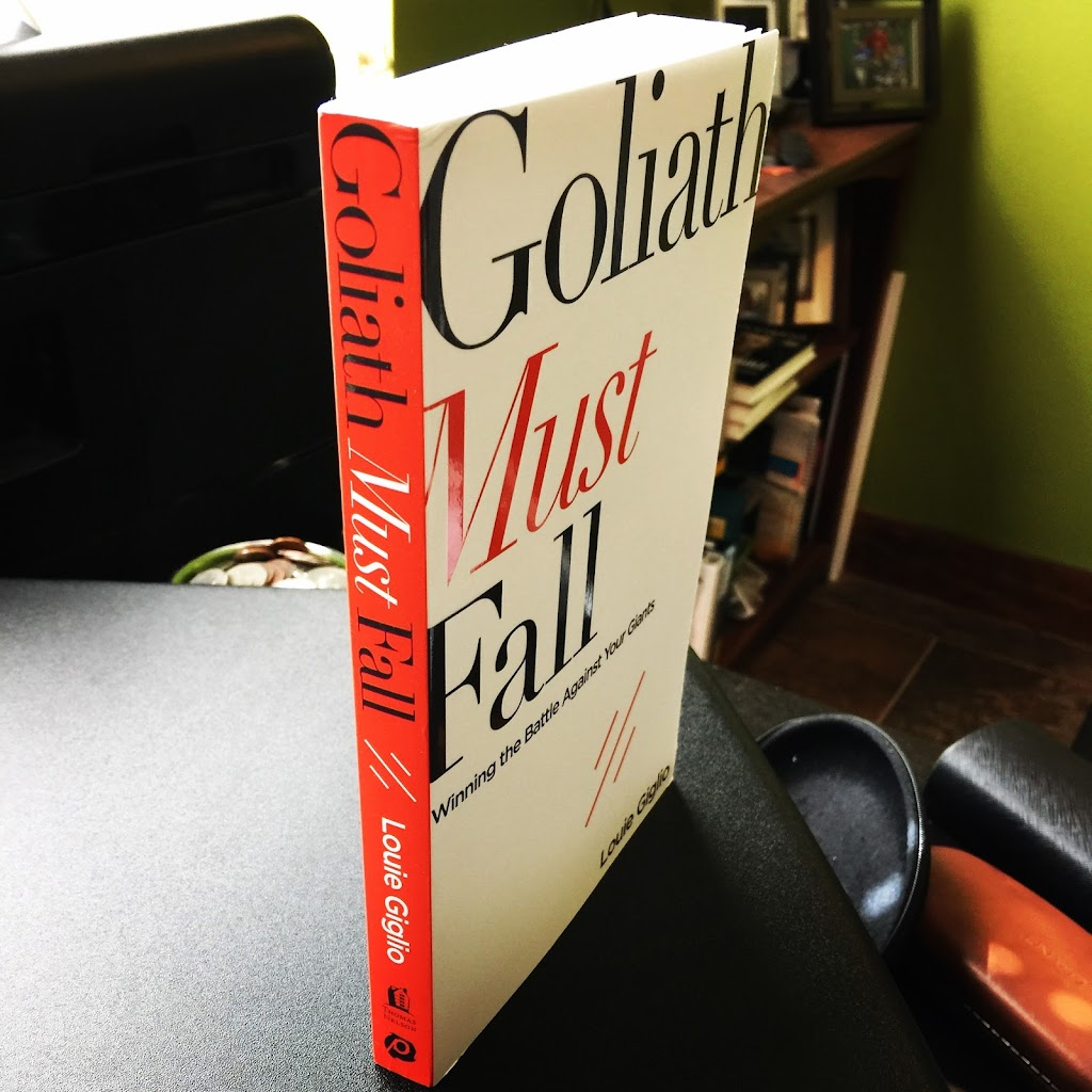 Goliath Must Fall Book Image