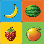Fruits Memory Game for kids by Nerd's Corner icon