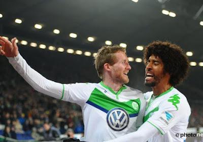 Wolfsburg wint van Thorgan Hazard en Mönchengladbach