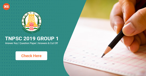 TNPSC 2019 Group 1 Answer Key | Question Paper, Answers & Cut Off