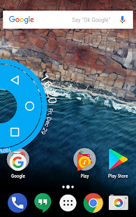 Simple Pie(Navigation bar) Screenshot