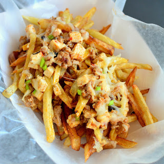 Mapo Tofu Cheese Fries