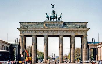 Photo: Berlijn. Brandenburger Tor.