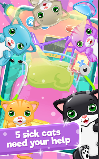 Little Cat Doctor Pet Vet Game modavailable screenshots 3