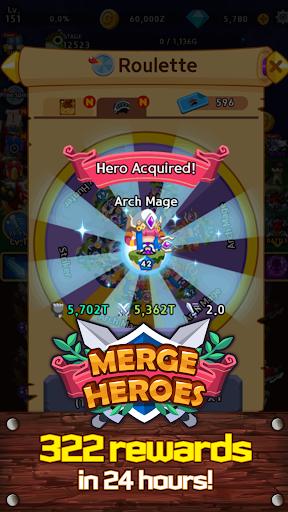 Merge Heroes Frontier: Casual RPG Online screenshots apkshin 19