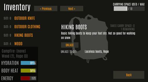 Survive - Wilderness survival  screenshots 10
