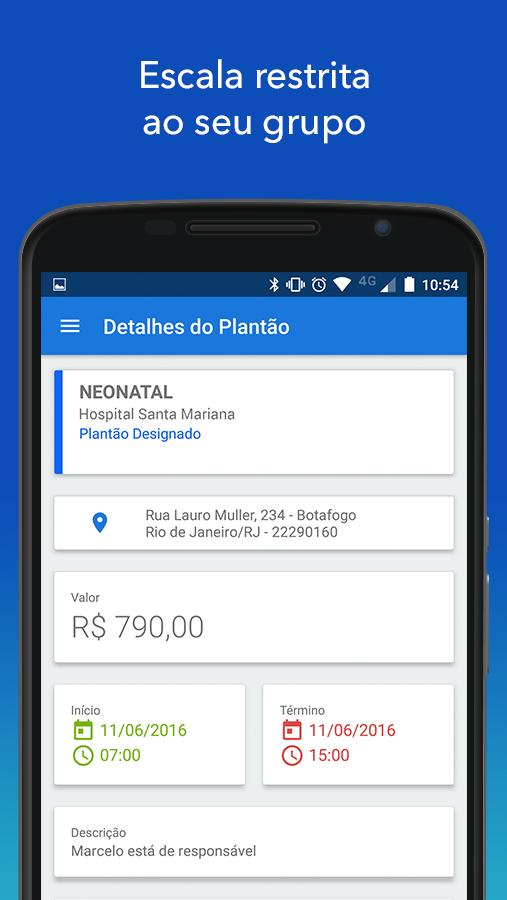 Pega Plantão- screenshot