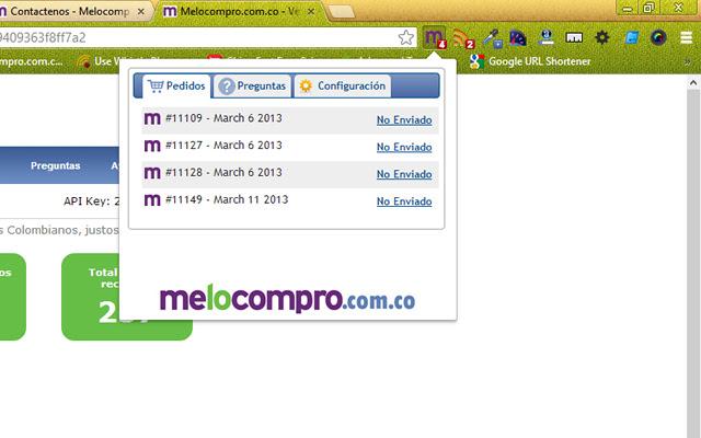 Melocompro Notifier