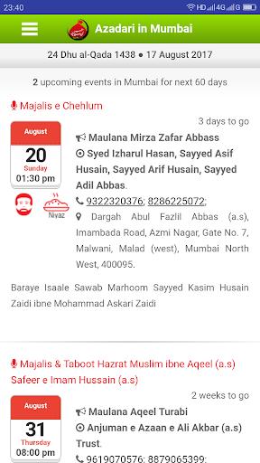 Azadari in Mumbai (AIM) 2.4 screenshots 3