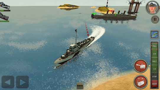 Enemy Waters : Submarine and Warship battles 3