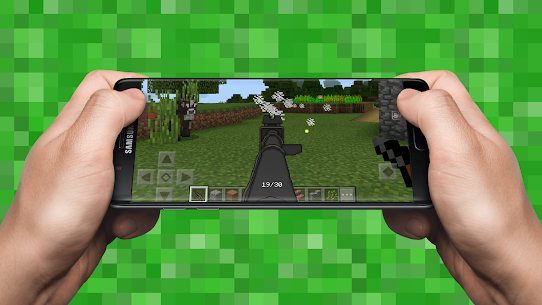 Guns Mod for Minecraft PE APK Download for Android 4