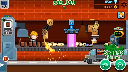 Factory Inc MOD APK 2.3.43 [Unlimited Money] 2