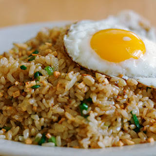 Fried Rice with Crispy Garlic and Ginger