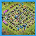 layout for clash of clans icon