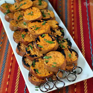 Grilled Sweet Potato Kebabs