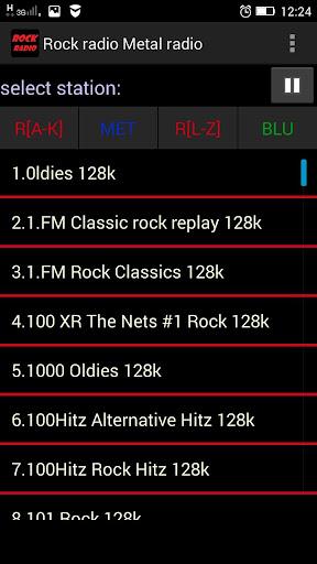 搖滾電台廣播金屬