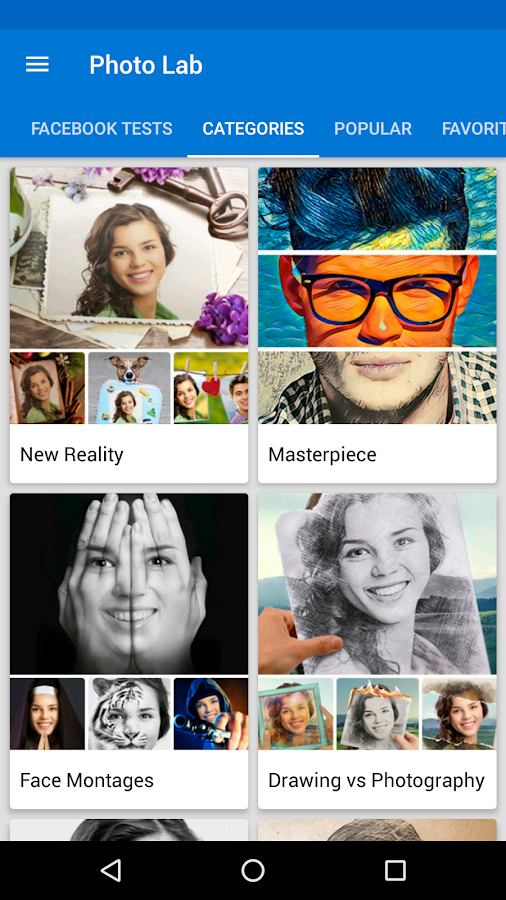 Photo Lab Picture Editor FX: frames, effects & art- screenshot