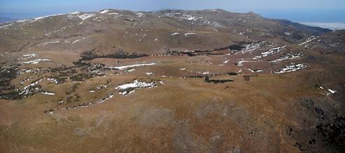 Photo: Castala (Almería) 26 feb. Altiplano de la Sierra de Gádor, con manchas de nieve.