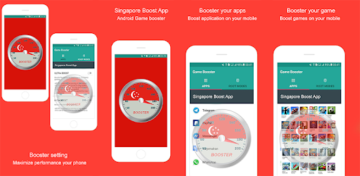 Singapore Boost App - Android Game Booster - Apps on