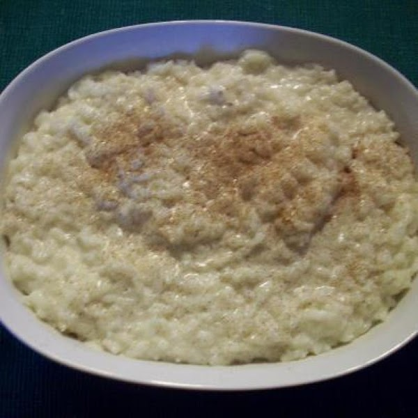 Old Fashioned Creamy Rice Pudding Recipe