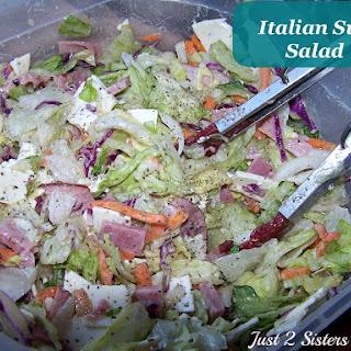 Italian Sub Salad.