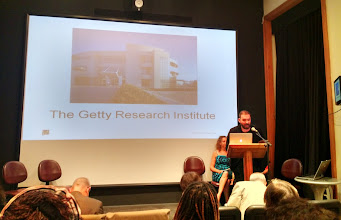 Photo: Derek Quezada - Reference Librarian, The Getty Research Institute
