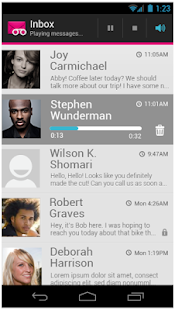 T-Mobile Visual Voicemail Screenshot