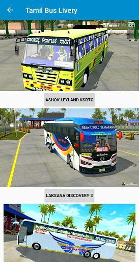Tamil Bus Mod Livery   Indian Bus simulator 1.6 screenshots 1