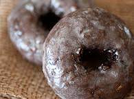Glazed Chocolate Donuts