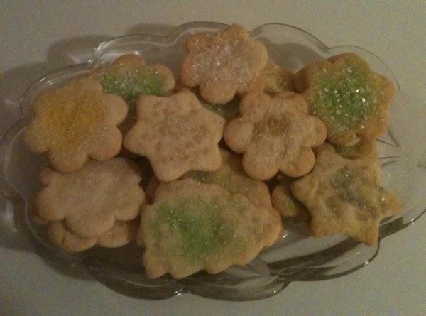 Grandma Mccarver's Sugar Cookies Recipe