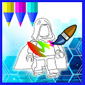 Paint Superheros for Kids icon
