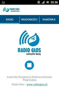 Radio Głos- screenshot thumbnail