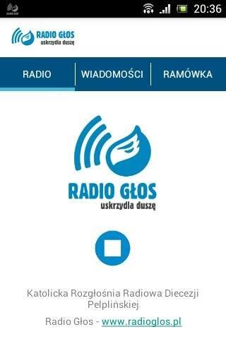 Radio Głos- screenshot
