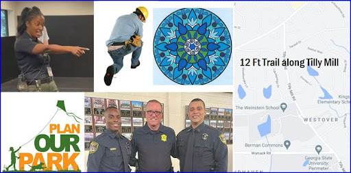 Dunwoody City Council Agenda for July 26, 2021 - Paths, Parks Planning, Austin Park Turf, Mural, Skilled Tradesman, New Police Officers, Teen Police Academy, Audit Member