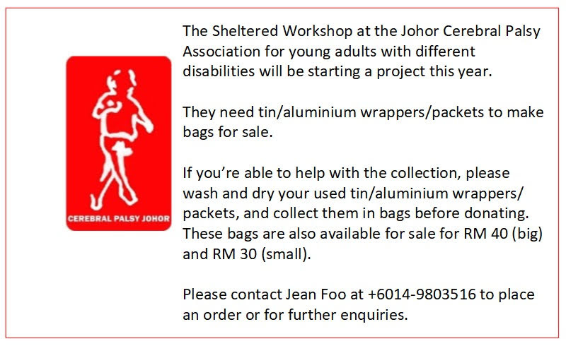 Johor Cerebral Palsy Association Collection(柔佛残障协会)