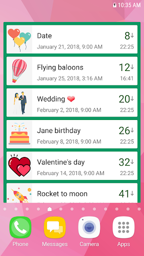 Countdown Widget screenshot 4