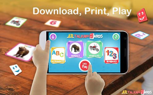 AR Talking Cards 4D - náhled