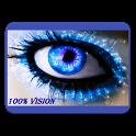 100% vision Bates method icon