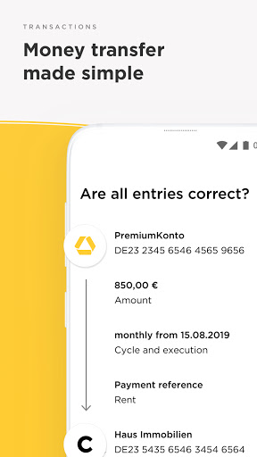 Commerzbank Banking - The app at your side  screenshots 2