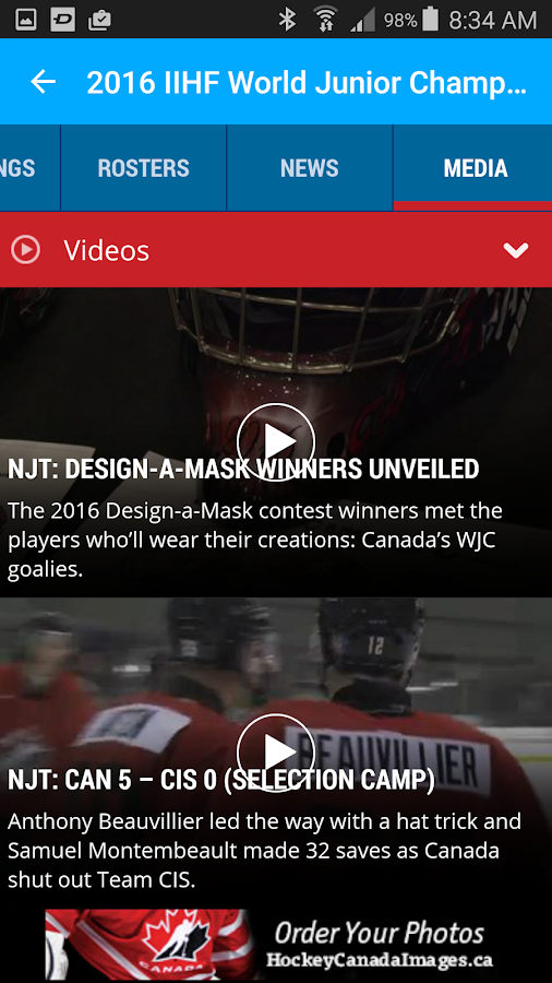 Hockey Canada Live Ice- screenshot