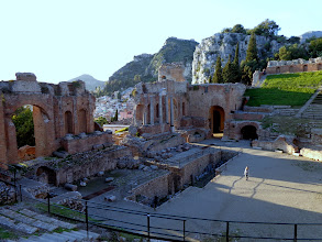 Photo: Taormina town centre is close by
