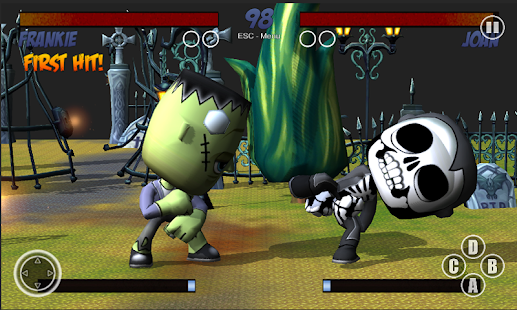 Halloween Fighter Free- screenshot thumbnail