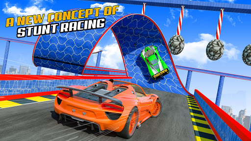 Superhero GT Racing Car Stunts: New Car Games 2020 apktram screenshots 17