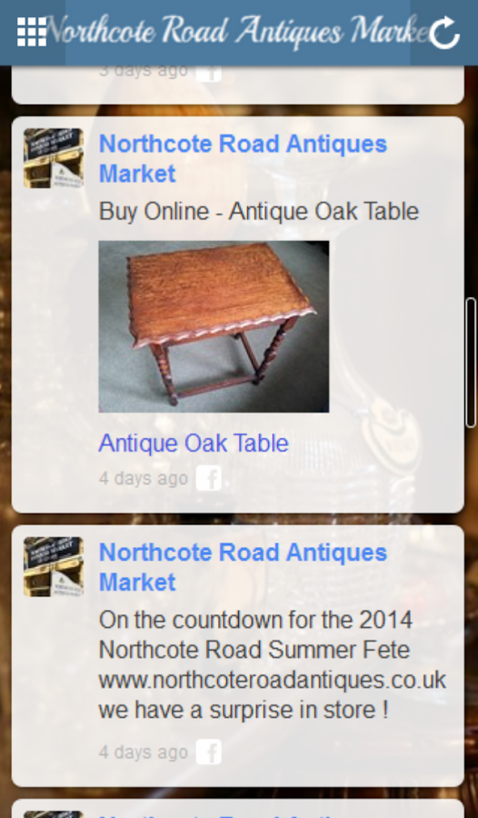 Northcote Antiques- screenshot