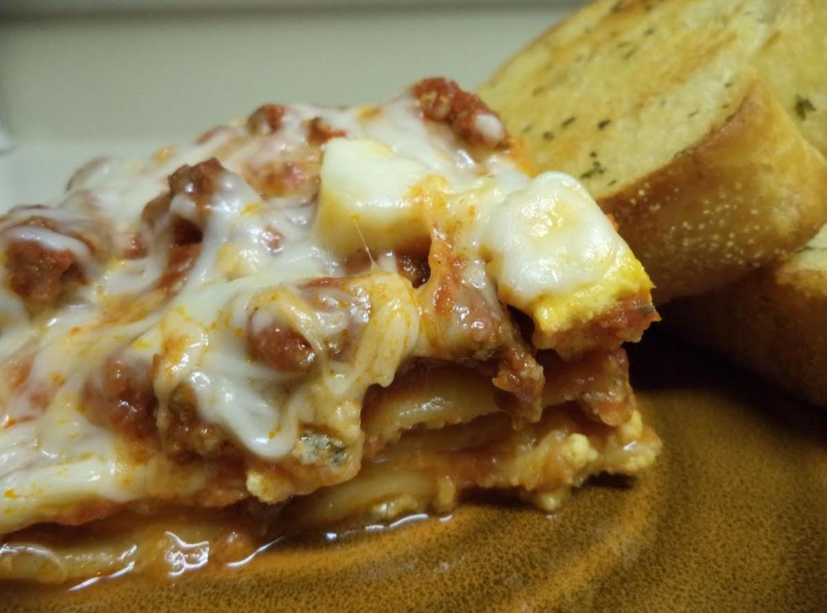 unusual & easy oven lasagna | just a pinch recipes